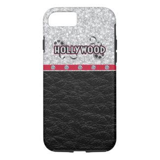 Hollywood, brillo y cuero funda iPhone 7