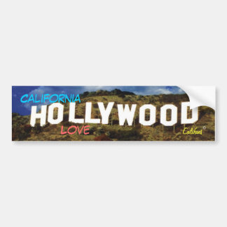 Hollywood Bumper Sticker