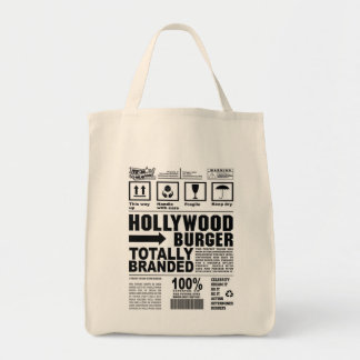 Hollywood Burger Totally Branded Grocery Tote