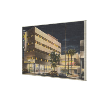 Hollywood, CA - Columbia Broadcasting System Canvas Print