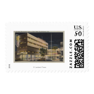 Hollywood, CA - Columbia Broadcasting System Postage