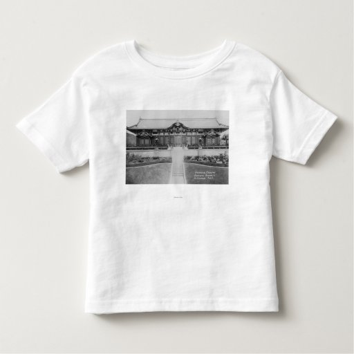 Hollywood, CA Japanese Mansion in Gardens T-shirt