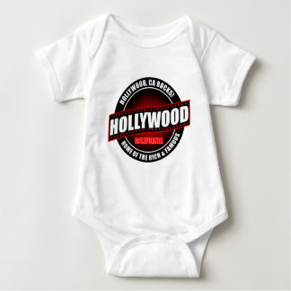 Hollywood, Ca. Rocks! Home Of The Rich & Famous Baby Bodysuit