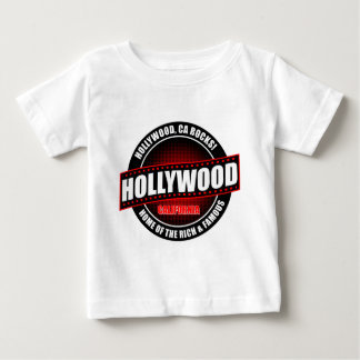 Hollywood, Ca. Rocks! Home Of The Rich & Famous Baby T-Shirt