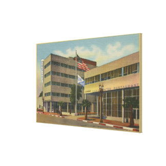 Hollywood, CAColumbia Square, KNX Broadcasting Canvas Print