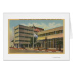 Hollywood, CAColumbia Square, KNX Broadcasting Greeting Card
