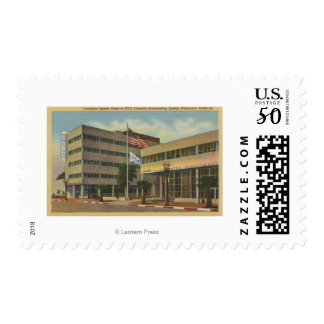 Hollywood, CAColumbia Square, KNX Broadcasting Postage