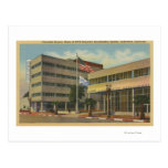 Hollywood, CAColumbia Square, KNX Broadcasting Postcard