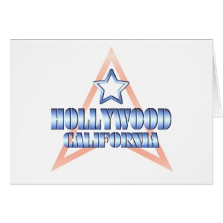Hollywood California Greeting Card