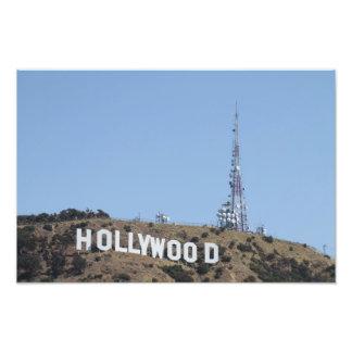 Hollywood California Impresiones Fotográficas