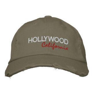 HOLLYWOOD, California Gorras De Beisbol Bordadas