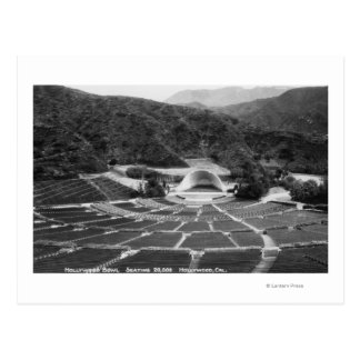 Hollywood, California Hollywood Bowl View Postcard
