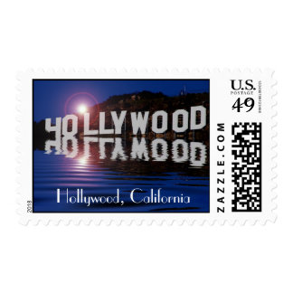Hollywood, California Postage