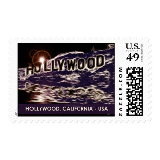Hollywood California Postage