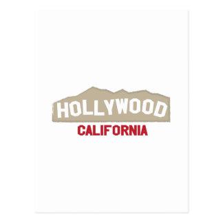 Hollywood California Postales