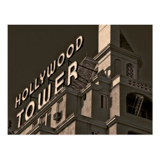 Hollywood, California postcard