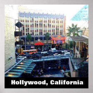 HOLLYWOOD, CALIFORNIA poster