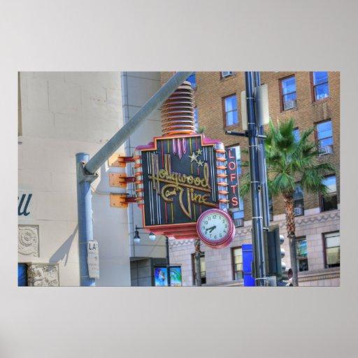 Hollywood California Póster