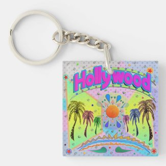 Hollywood Calm Desire Keychain