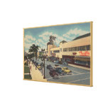 Hollywood, CALooking South on Vine Street View Canvas Print