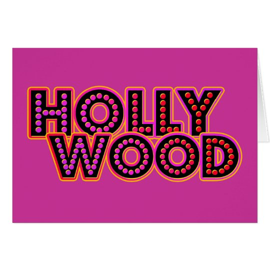 Hollywood Card