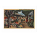 Hollywood, CAView del mercado del granjero Postal