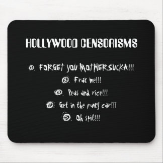 Hollywood Censorisms Mouse Pad
