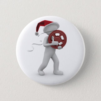 hollywood christmas button