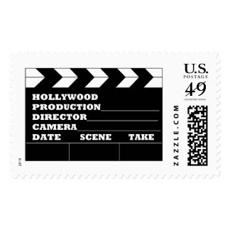 Hollywood Clapboard Postage Stamps