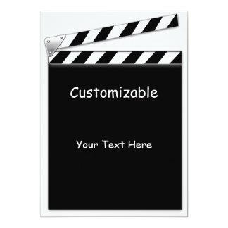 Hollywood Clapper Board Custom, Info Template