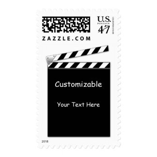 Hollywood Clapper Board Stamp