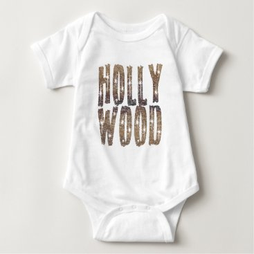 Coffee Themed Hollywood Coffee and Stars Baby Bodysuit