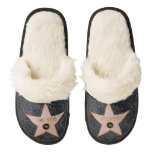 Hollywood Drama Star - Pair Of Fuzzy Slippers