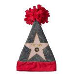 Hollywood Drama Star Santa Hat