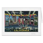 Hollywood, escenas de la letra de CaliforniaLarge Felicitacion