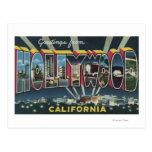 Hollywood, escenas de la letra de CaliforniaLarge Postal