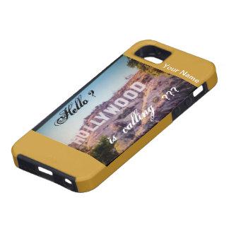 Hollywood está llamando la caja del teléfono Iphon iPhone 5 Case-Mate Carcasas