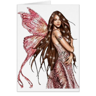 Hollywood Fairy Greeting Card