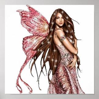 Hollywood Fairy Print