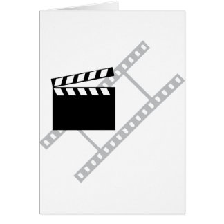 hollywood film clapper card