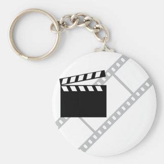 hollywood film clapper keychain