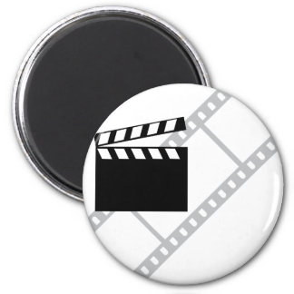 hollywood film clapper magnet