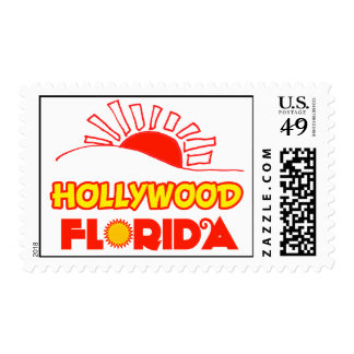 Hollywood, Florida Postage Stamps