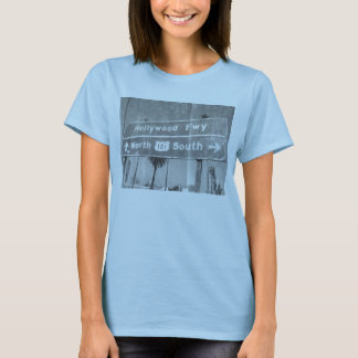 Hollywood Freeway Sign T-Shirt