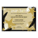 "Hollywood Glamour Award Party Invitation 5"" X 7"" Invitation Card"