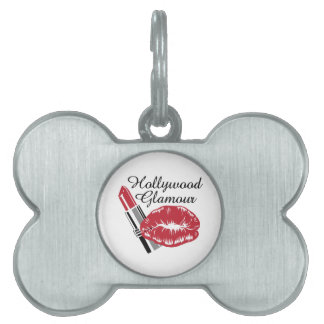 HOLLYWOOD GLAMOUR PET ID TAGS