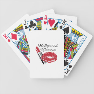 HOLLYWOOD GLAMOUR BICYCLE PLAYING CARDS