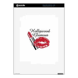 HOLLYWOOD GLAMOUR SKINS FOR THE iPad 2