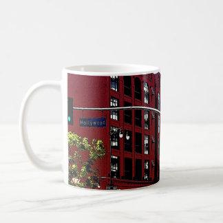 Hollywood Go Classic White Coffee Mug