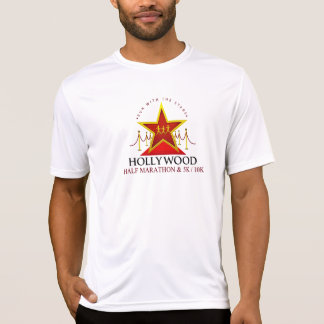 Hollywood Half Marathon Tech Shirt (Customizable)